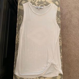 Cupcakes and cashmere white tank